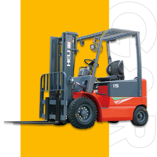 Electric forklift 1.5-1.8 ton goodrich