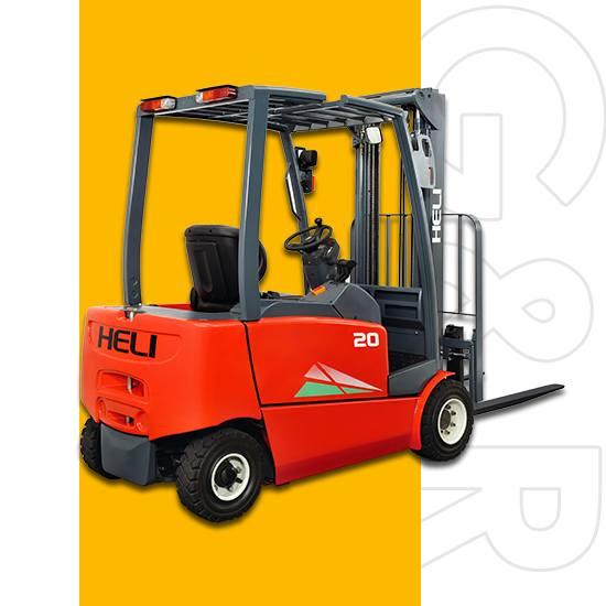 Electric Forklift 1.5- Ton