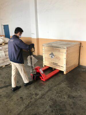 การใช้งาน-รถลากพาเลท
