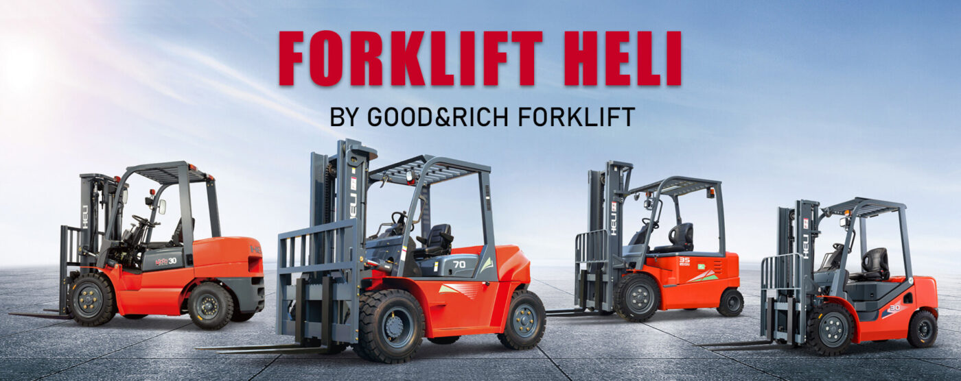 FORKLIFT HELI BY GOOD&RICH FORKLIFT